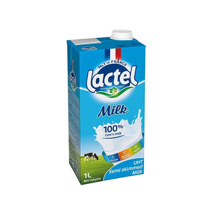 LACTEL, Number 1 in milk in France   Lactalis international